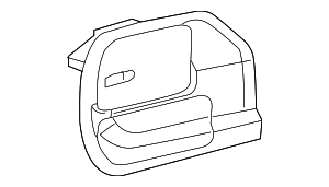 Cargo Trim Panel - Mopar (5VM63DX9AI)