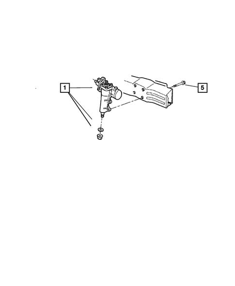 Steering Gear for 2004 Jeep Grand Cherokee #0