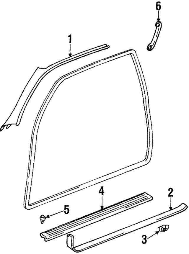 Sill Plate Clamp - Lexus (67923-24010)