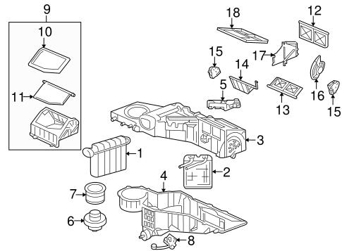 oem 2003 hummer h2 blower motor fan parts. Black Bedroom Furniture Sets. Home Design Ideas