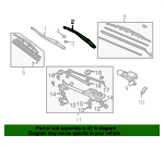 Arm, Windshield Wiper (Driver Side) - Acura (76600-SEP-A01)