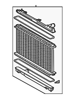 Radiator Assembly - Lexus (16400-36130)