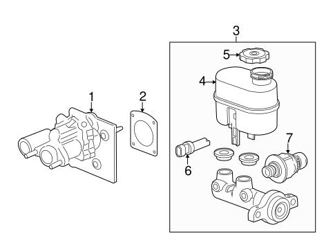 Vacuum Booster For 2014 Gmc Sierra 3500 Hd