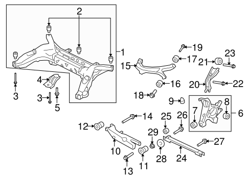 2002 Dodge Ram 1500 Suspension Diagram further Camaro further Viewtopic together with Rear Suspension Scat furthermore Suspension Control Arm Bushings Replacement Cost. on taurus rear suspension control arm