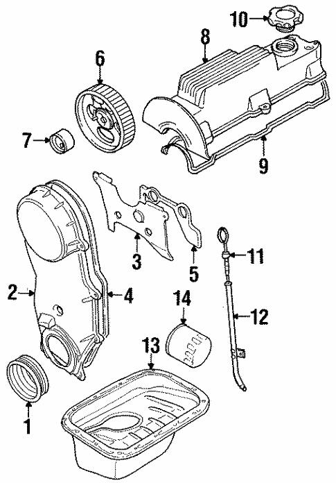 Oem 1999 Chevrolet Metro Engine Parts Parts