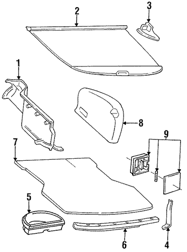 Floor Mat Bracket