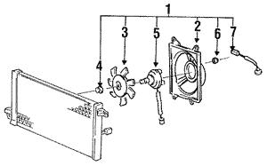 Genuine Hyundai 97764-24010 Cooler Line Suction Hose