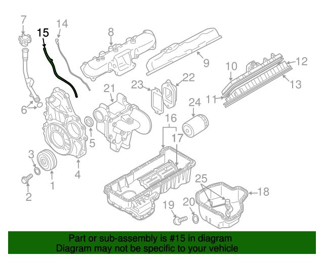 GM OEM Engine-Oil Tube Seal 94036238