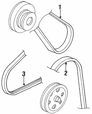 Belt, Alternator (Bando)