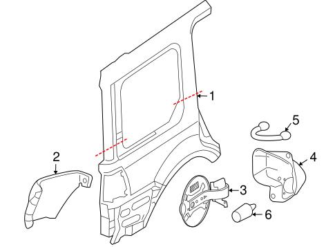 quarter panel components for 2010 lincoln navigator. Black Bedroom Furniture Sets. Home Design Ideas