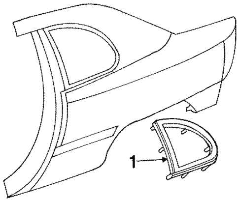 Glass Hardware For 1999 Dodge Neon