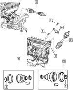 AXLE DISCONNECT - SOLENOID 68052258AA