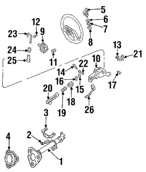 Housing & Components for 1987 Ford Aerostar #0