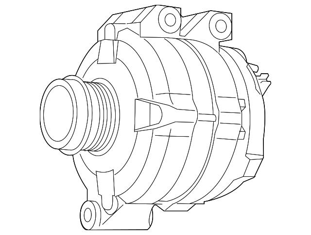 2011 2014 Volkswagen Routan Alternator 7b0 998 015 C
