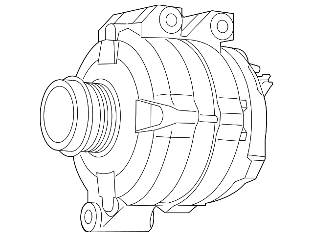 Genuine Volkswagen Alternator 7b0 998 015 C