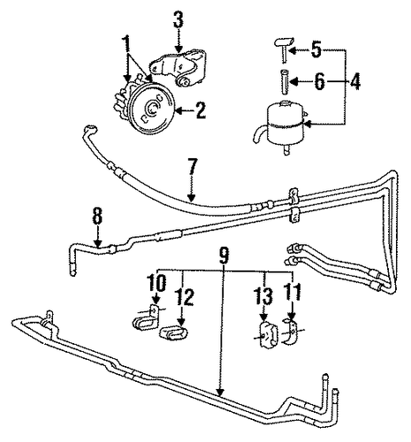 Power Steering Pump[device=moves Liquid]