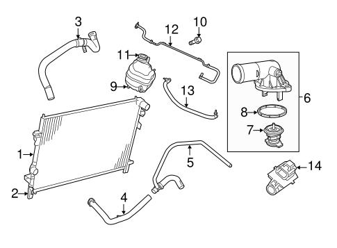 2013 dodge journey fuse box diagram dodge journey engine cooling diagram radiator & components for 2011 dodge journey   mopar parts