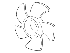 Fan, Cooling - Acura (19020-RN0-A71)