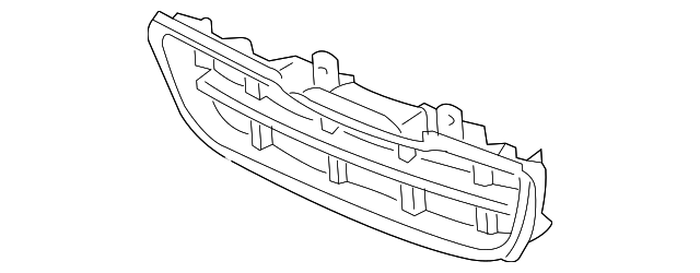 Grille, Front Bumper (Lower)