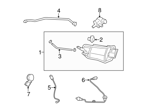EMISSION SYSTEM/EMISSION COMPONENTS for 2009 Toyota Corolla #1