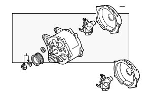 Alternator - Volkswagen (03H-903-023-LX)