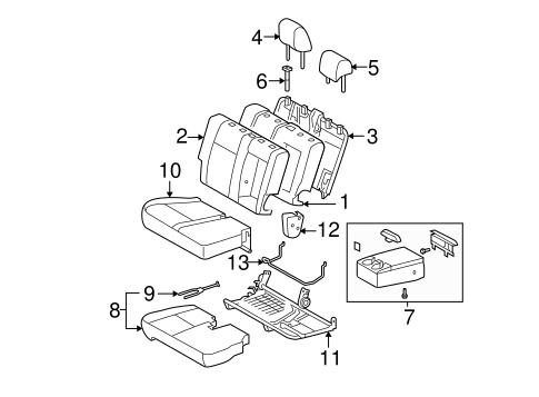 TOYOTA Genuine 71072-0C440-B3 Seat Cushion Cover