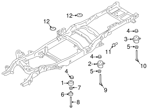 frame  u0026 components for 2017 ford f