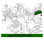 Valve Cover Gasket - Toyota (11214-0P040)