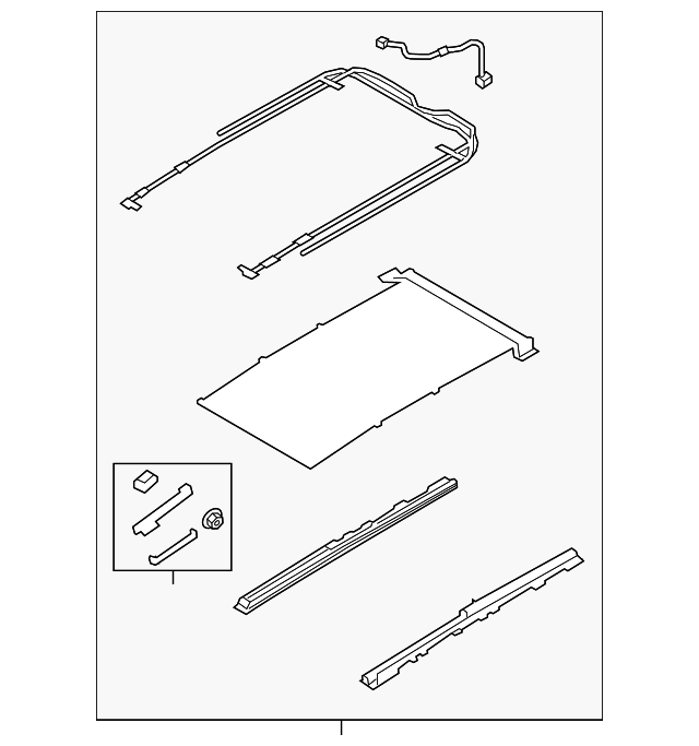 Rail Assembly Kia 81646 2p500up Quirk Parts