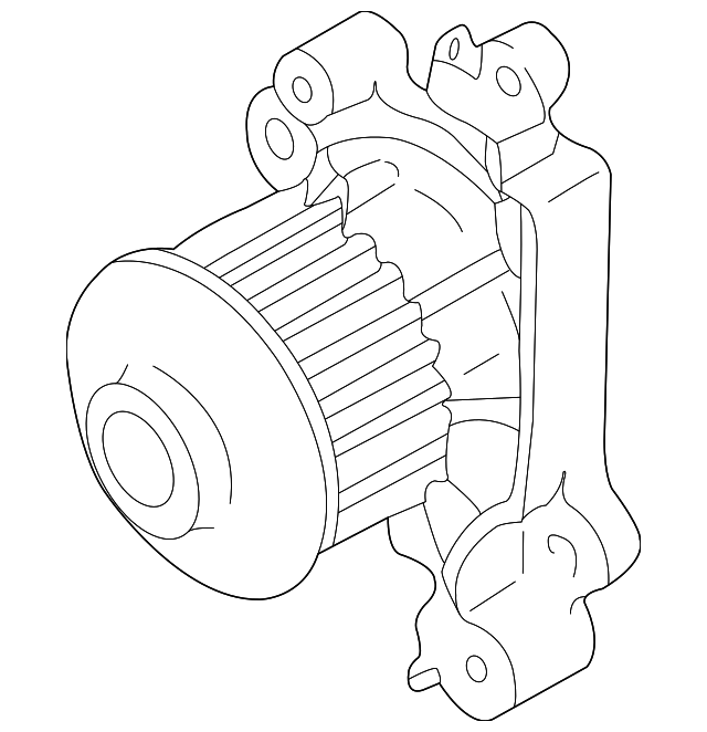 Mitsubishi Water Pump Md309756