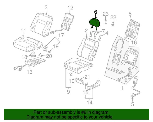 TOYOTA Genuine 71078-0R024-E3 Seat Back Cover