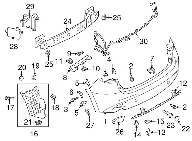 Genuine Mazda Lower Support BJS7-50-0S0