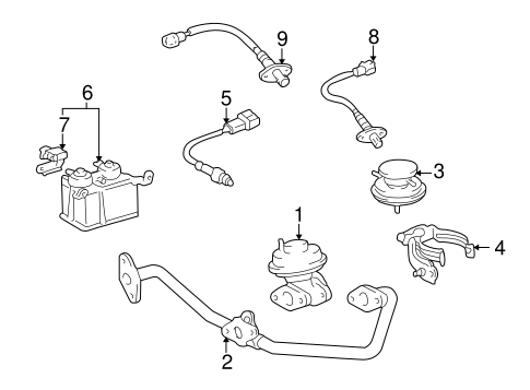 1999 4runner Exhaust Diagram