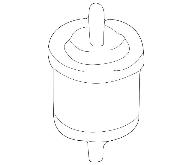 Genuine Infiniti Fuel Filter 16400