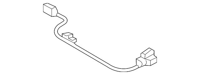 2018 Audi Wire Harness 8v7 998 345 B