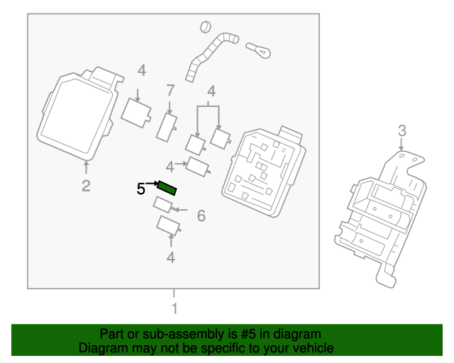 mini fuse for 2008 chevrolet impala|88909756 : gm parts ... 2008 impala ss fuse block diagram #12