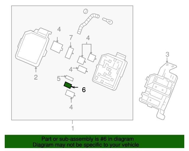 oem fuse 88956549 for your gm vehicle oem gm parts and. Black Bedroom Furniture Sets. Home Design Ideas