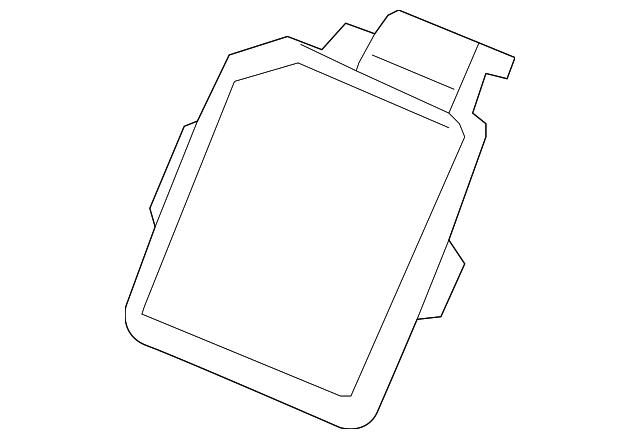 2006 chevy impala fuse box cover fuse box cover gm  88988634  gmpartsdirect com  fuse box cover gm  88988634