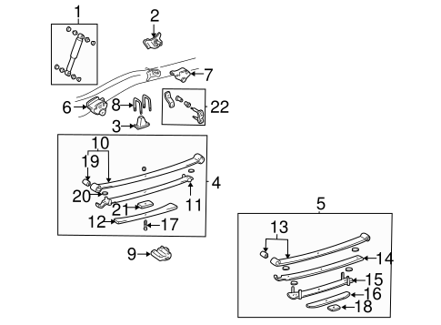REAR SUSPENSION/REAR SUSPENSION for 1996 Toyota Tacoma #3