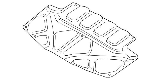 2004 2008 Subaru Forester Insulator 90815sa040