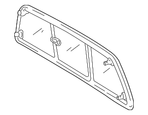 Back Glass - Toyota (64810-0C021)