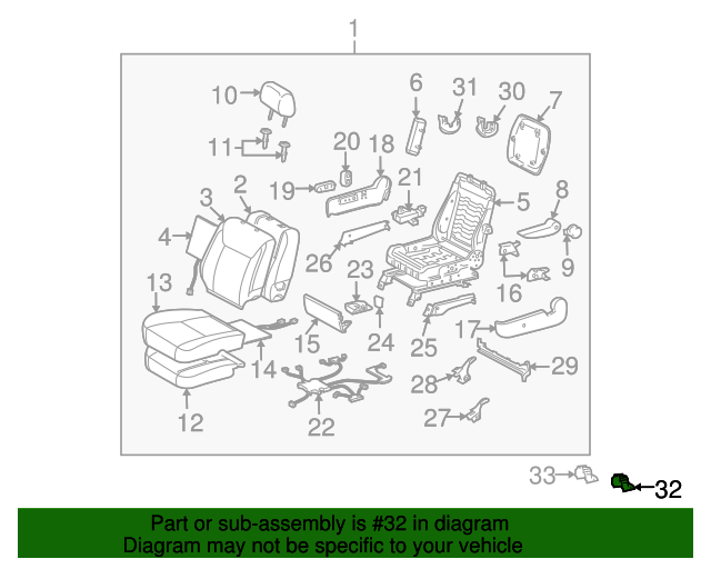 TOYOTA 78632-AE040-B0 Seat Side Table Cover