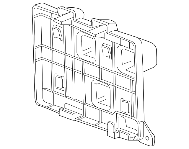 Ecm Mount Bracket GM 23302584: 2015 Chevy Colorado Oil Filter Diagram At Sergidarder.com
