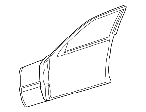 Door Shell - Mercedes-Benz (202-720-16-05-28)