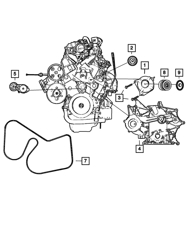 Alternator - Mopar (4868430AB)