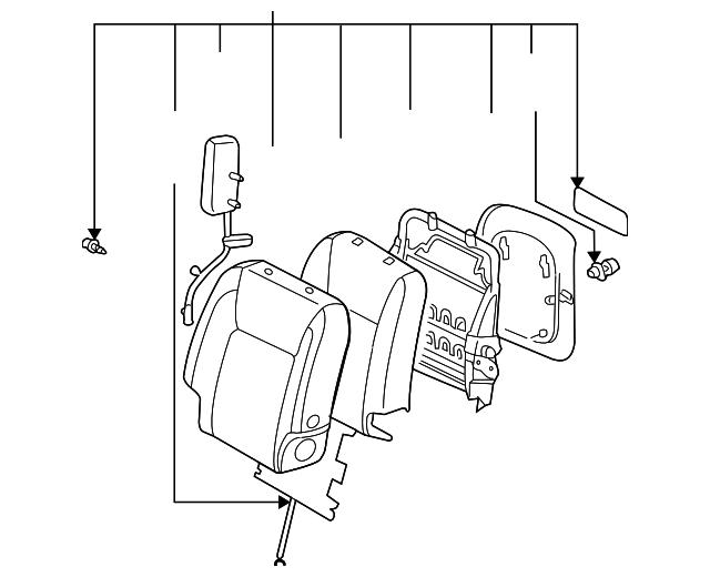 seat back assembly