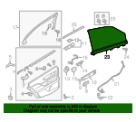 Sunshade - Ford (GD9Z-54402A34-AA)