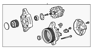Alternator - Toyota (27060-0P440)