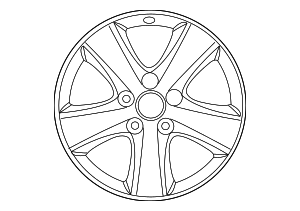 Wheel, Alloy - Toyota (42611-06740)