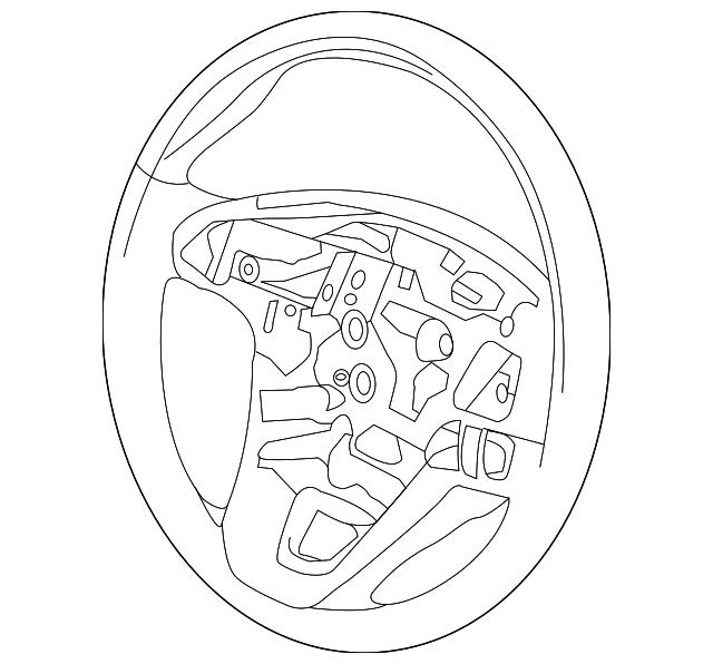 2015 2018 Lincoln Steering Wheel Fp5z 3600 Lb